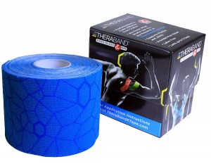 Thera-Band XactStretch 12929 taśma do kinesiotapingu 5cm rolka 5m niebiesko-niebieska